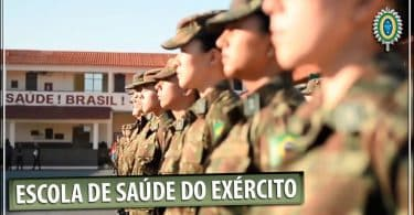 concurso público no RJ: Escola de Saúde do Exército